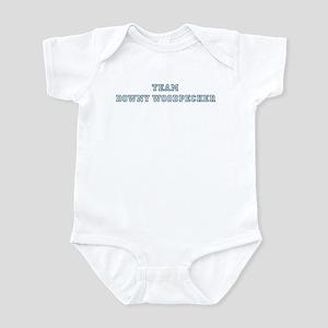 Team Downy Woodpecker Infant Bodysuit