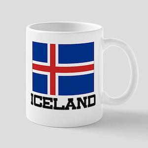 Iceland Flag Mug