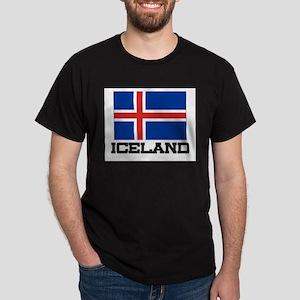Iceland Flag Dark T-Shirt