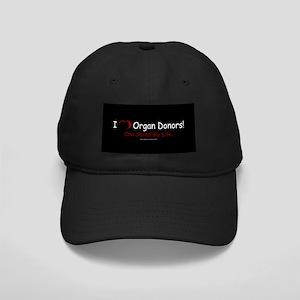 Organ Donor Saved My Life Black Cap