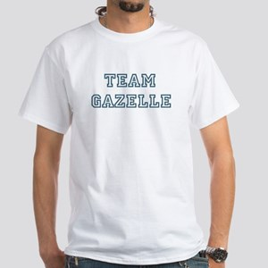 Team Gazelle White T-Shirt