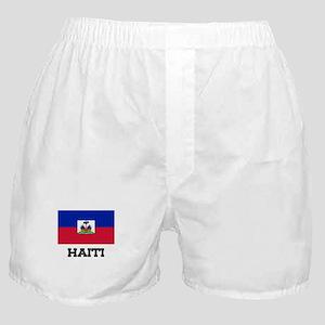 Haiti Flag Boxer Shorts