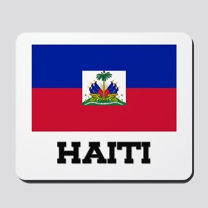 Haiti Flag Mousepad