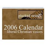 Plucked Strings Calendar: Liberal Christian