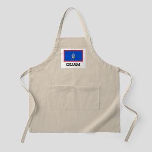 Guam Flag BBQ Apron