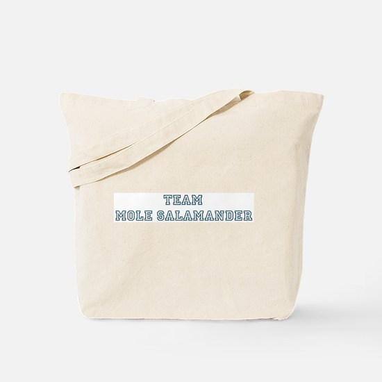 Team Mole Salamander Tote Bag