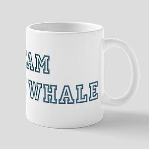 Team Minke Whale Mug