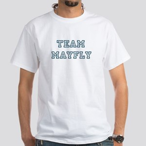 Team Mayfly White T-Shirt