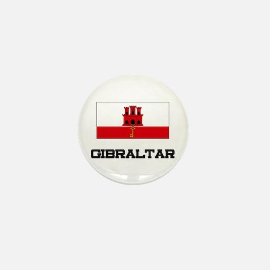 Gibraltar Flag Mini Button