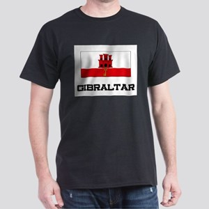 Gibraltar Flag Dark T-Shirt