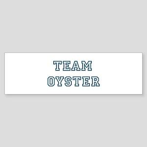Team Oyster Bumper Sticker