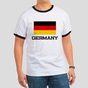 Germany Flag Ringer T