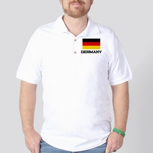 Germany Flag Golf Shirt