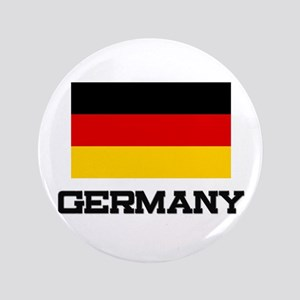 """Germany Flag 3.5"""" Button"""