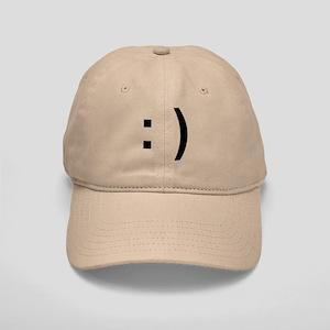 Happy Face Cap (khaki)