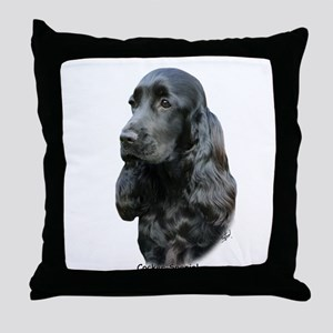 Cocker Spaniel 9T004D-206 Throw Pillow