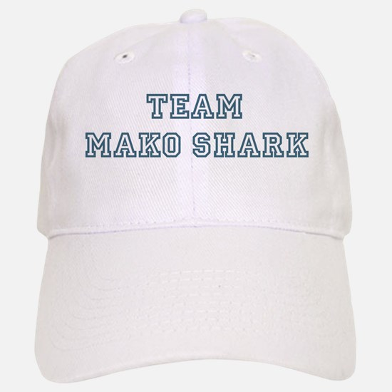 Team Mako Shark Baseball Baseball Cap