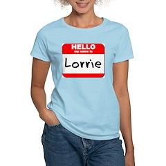Hello my name is Lorrie Women's Light T-Shirt