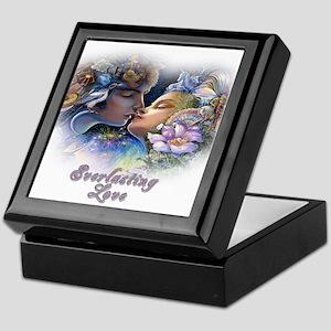 Everlasting Love Kiss Keepsake Box