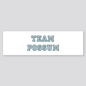 Team Possum Bumper Sticker