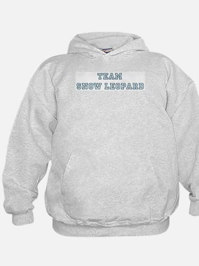 Team Snow Leopard Hoodie