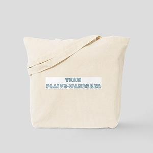 Team Plains-Wanderer Tote Bag