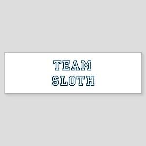 Team Sloth Bumper Sticker