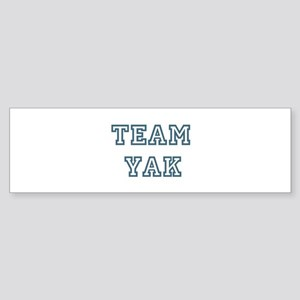 Team Yak Bumper Sticker