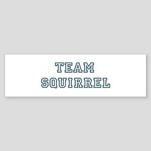 Team Squirrel Bumper Sticker