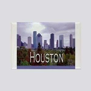 Houston 2 Rectangle Magnet