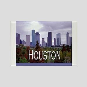 Home Decor Houston 2 Rectangle Magnet