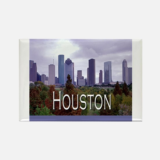 Houston 2 Rectangle Magnet