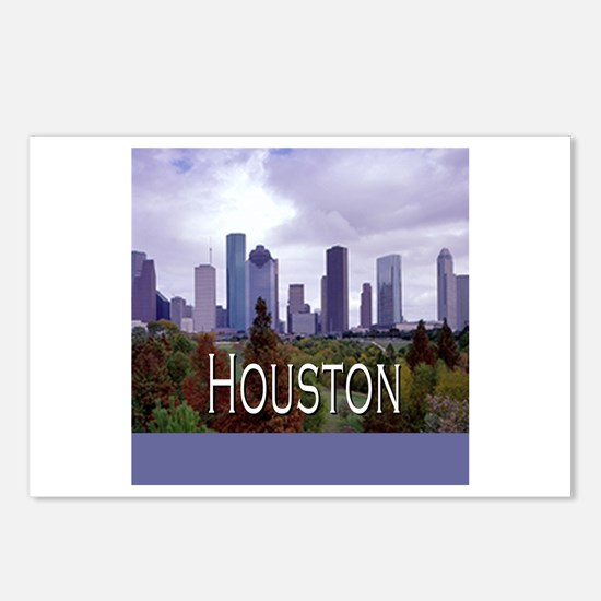 Houston 2 Postcards (Package of 8)