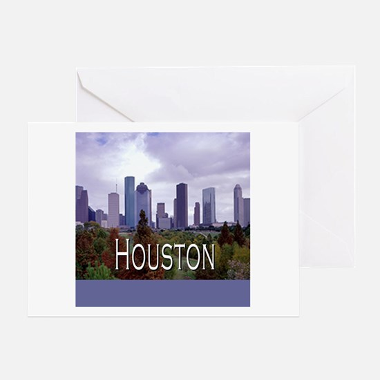 Houston 2 Greeting Card