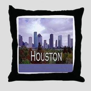 Houston 2 Throw Pillow
