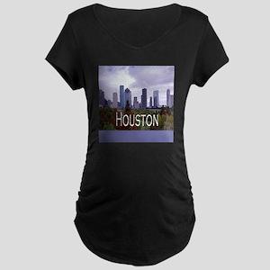 Houston 2 Maternity Dark T-Shirt