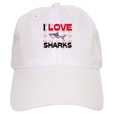 I Love Sharks Cap