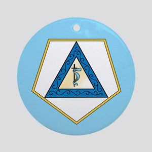 Grand Adah Ornament (Round)