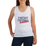 Fantasy Football Addict Women's Tank Top