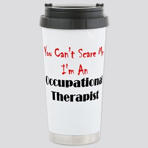 You Can't Scare Me Stainless Steel Travel Mug