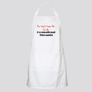 You Can't Scare Me BBQ Apron