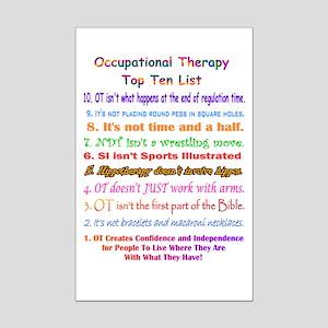 What is OT Top 10 Mini Poster Print