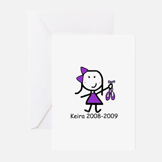 Ballet - Keira Greeting Cards (Pk of 20)