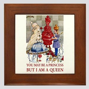 YOU MAY BE A PRINCESS Framed Tile