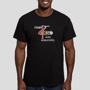Fishing Funny Fishing is My Achilles Reel T-Shirt