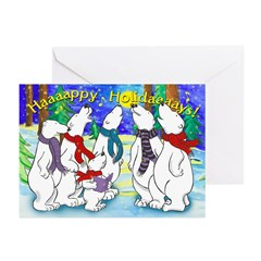 Happy Holidays Bear Chorus (10-Pack)