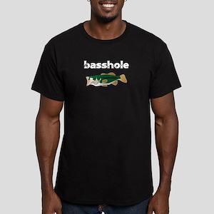 Fishing Basshole Bass Hole Funny Fisherman T-Shirt