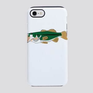 Fishing Basshole Bass Hole F iPhone 8/7 Tough Case