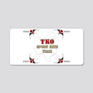 T K O Sport Kite Team - Aluminum License Plate