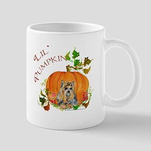 Pumpkin Yorkshire Terrier Mug